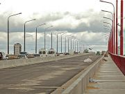 У Дніпрі готуються до відкриття відремонтованої смуги Нового моста