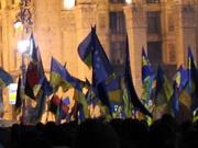 В акциях Евромайдана приняли участие 5,7% украинцев, а в провластных митингах - 0,5%