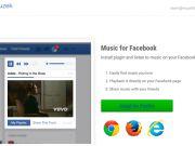 Украинцы создали плагин для браузера, который позволяет слушать музыку в Facebook, как во «ВКонтакте»