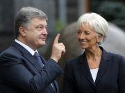 Порошенко і Лагард відзначають успішність реформи у фінансово-банківському секторі України