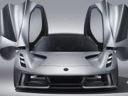 В Lotus заявили о рекордном ускорении своего 2000-сильного электрокара Evija