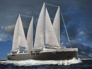 Первое в мире ро-ро судно, оборудованное парусами, построят во Франции