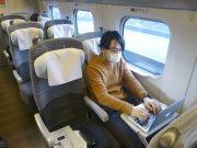 В Японии тестируют «вагоны-офисы» для дистанционной работы