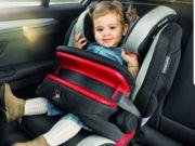 Ухвалено закон про штрафи за перевезення дітей без автокрісел