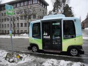У Швеції почали курсувати перші безпілотні автобуси