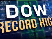Dow Jones впервые превысил отметку в 24 000 пунктов