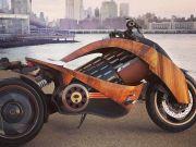 Компанія Newron створила дерев'яний електро-мотоцикл (фото)