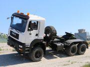 Бескапотный автомат: КрАЗ впервые представил новую модель