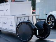 Polestar представила прототип открытого грузового электроскутера