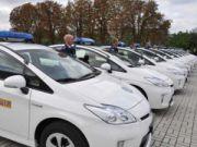 Украинская милиция получит новые Toyota Prius