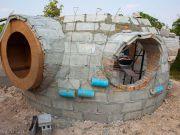 В Таиланде за полтора месяца построили самый дешевый дом (фото)