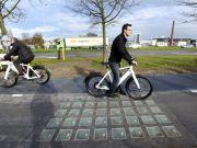 У Німеччині запрацювала перша велодоріжка із сонячних панелей