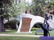 В Венеции установили первый бетонный мост, напечатанный на 3D-принтере (видео)