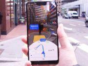 Google тестирует режим дополненной реальности для Google Maps