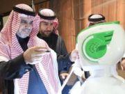 Первый робот начал работать в правительстве Саудовской Аравии