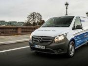 Mercedes представила електричний комерційний мінівен