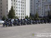 В Украине заработал полицейский мотопатруль (видео)