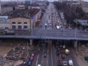 В Киеве отложено завершение ремонта Шулявского моста