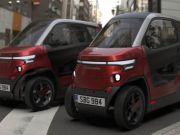 Представили електромобіль, який може зменшуватися на парковці (фото)