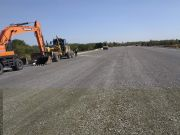 """Днепропетровщина: на трассе """"с нуля"""" возводят двухуровневую развязку и новый мост (фото)"""
