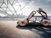 """BMW представила автономный концепт с """"живой геометрией"""" Vision Next 100 в честь своего столетия (видео)"""