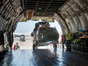 Український «Руслан» доставив військові вертольоти в Афганістан