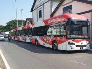 Первые автобусы на водородном топливе вышли в рейс в Малайзии (фото)