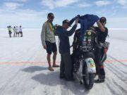 На українському мотоциклі встановлено світовий рекорд швидкості