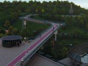На вело-пешеходный мост над Владимирским спуском потратят еще 160 миллионов