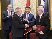 Украина планирует вместе с Канадой осваивать космос