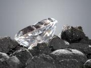 Ученые обнаружили алмаз с кристаллами внеземного льда внутри