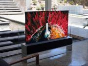 «Рулонный» телевизор LG оказался значительно дороже, чем ожидалось