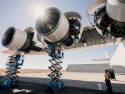 Тест двигунів найбільшого в світі літака Stratolaunch пройшов успішно (фото, відео)