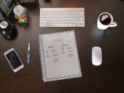 Создан блокнот, который можно очищать с помощью микроволновки (видео)