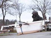 У Німеччині винайшли літаючу ванну (відео)