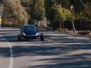 Американцы создали автомобиль с солнечной зарядкой (видео)