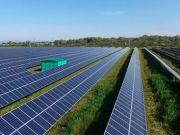У Київській області ввели в експлуатацію сонячну електростанцію