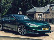 В Голландии создали электрический универсал на базе Tesla Model S