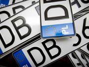 Названы размеры новых штрафов для автомобилистов на еврономерах