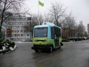 В Стокгольме запустят беспилотные автобусы