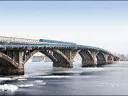 КГГА озвучила стоимость ремонта моста Метро