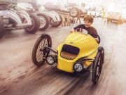 Morgan представил трехколесный электромобиль для детей (видео)