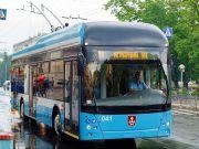 У Вінниці вийшов на маршрут перший тролейбус місцевого виробництва