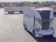 Безпілотна вантажівка виїхала на дороги Швеції