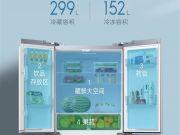 Xiaomi представила умный четырехдверный холодильник с сенсорным дисплеем (фото)