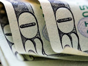"""Доллар """"замер"""" на 9 грн"""