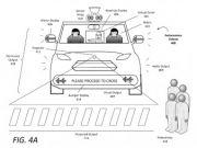 Uber запатентовал виртуального водителя для общения с пешеходами