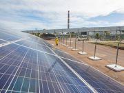 На территории ЧАЭС открыли солнечную электростанцию