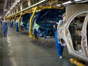 В июне автопроизводство в годовом измерении возросло на 122%