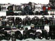 Продажі фотоапаратів у світовому масштабі скорочуються